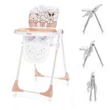 ZOPA - Detská jedálenská stolička Monti - Animal Beige
