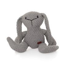 ZOPA - Pletená hračka zajac, Grey