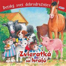 Zvieratká sa hrajú - leporelo - autor neuvedený