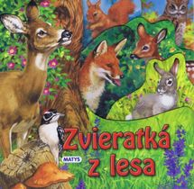 Zvieratká z lesa - leporelo - autor neuvedený