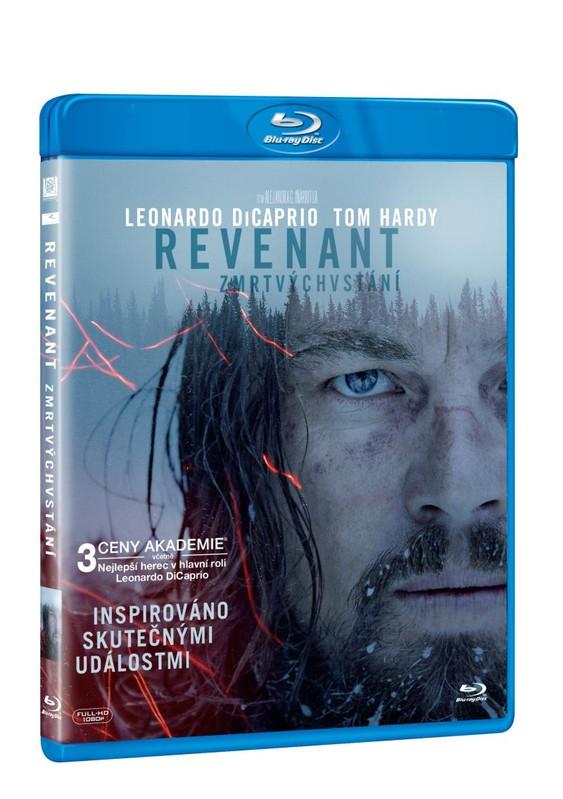 REVENANT Zmrtvýchvstání Blu-ray