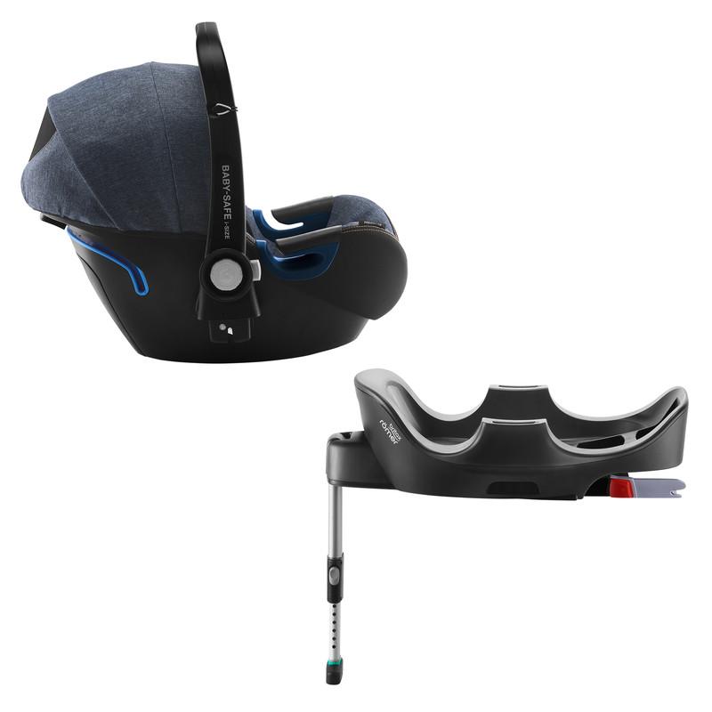 RÖMER - Autosedačka Baby-Safe 2 i-Size Bundle Flex, Blue Marble
