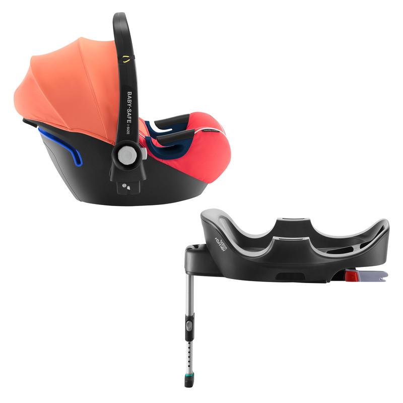 RÖMER - Autosedačka Baby-Safe 2 i-Size Bundle Flex, Coral Peach
