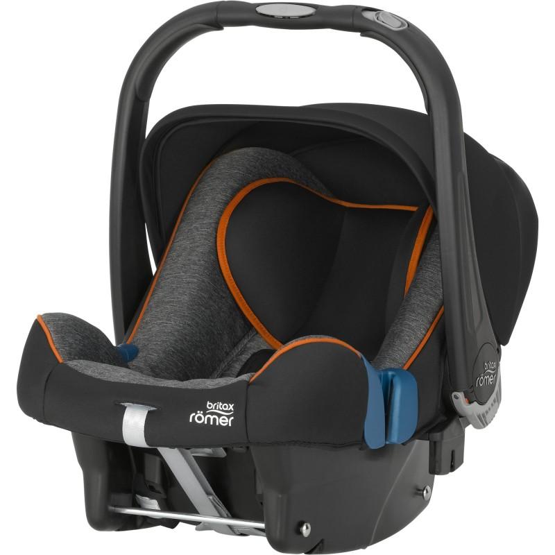 RÖMER - Autosedačka BABY-SAFE PLUS SHR II, 0-13 kg, 2016, Black Marble