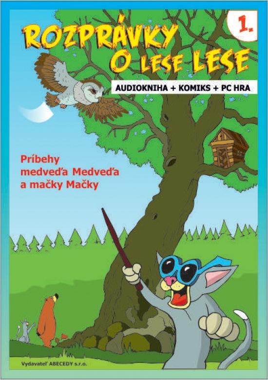 Rozprávky o lese Lese - 1. časť (CD + Komiks) - Anna Grác Gürtlerová