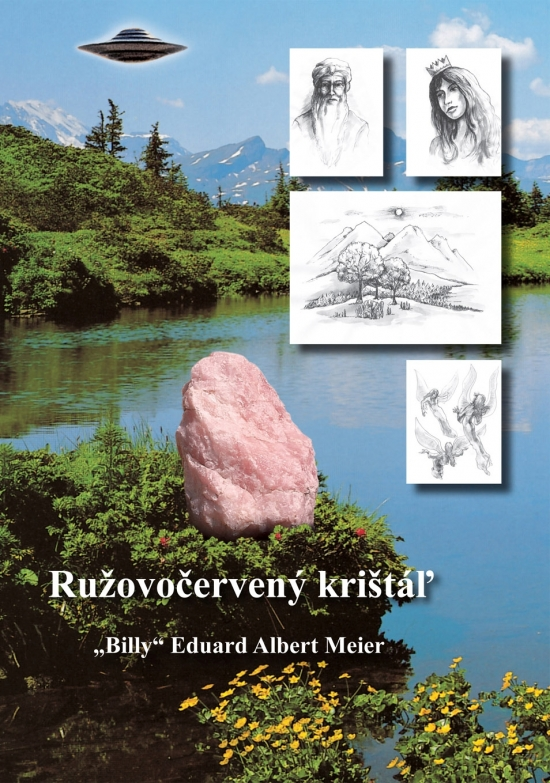 """Ružovočervený krištáľ - Albert Meier """"Billy"""" Eduard"""