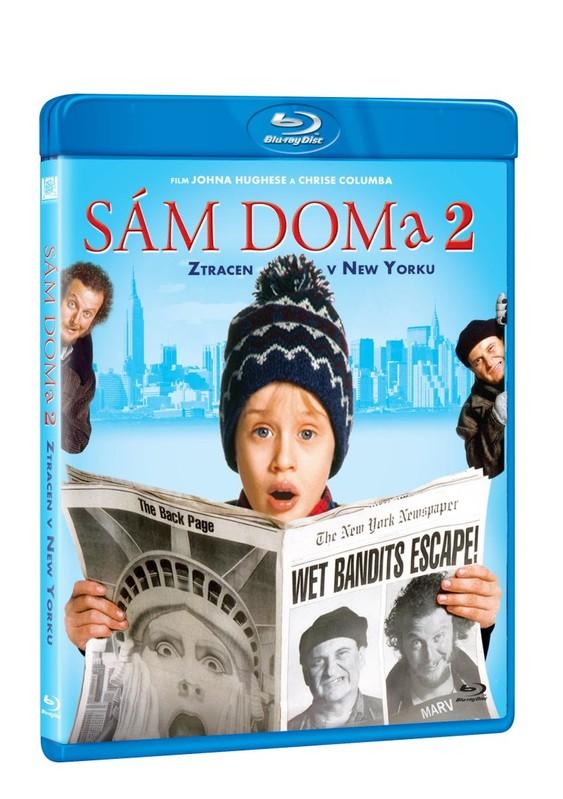 Sám doma 2: Ztracen v New Yorku Blu-ray