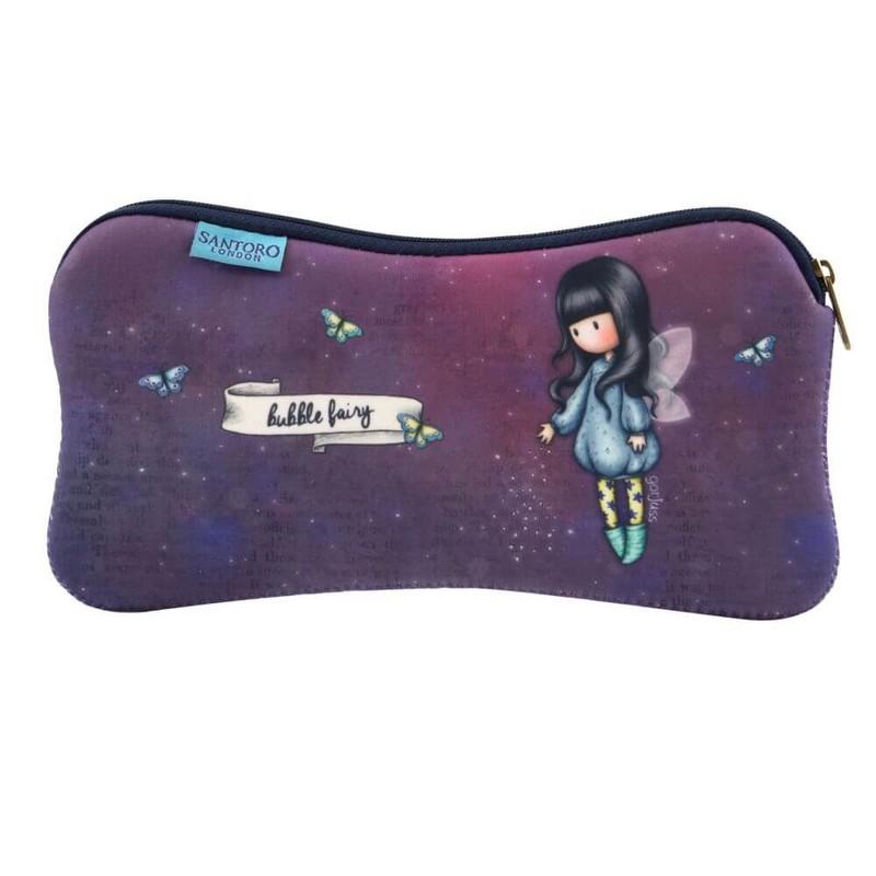 SANTORO - Gorjuss neoprénové puzdro ploché Bubble Fairy