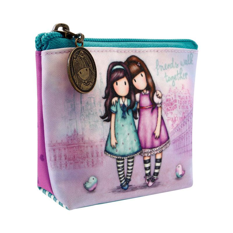 SANTORO - Gorjuss peňaženka na mince Friends Walk Together