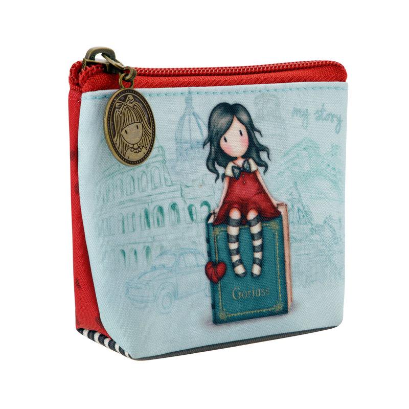 SANTORO - Gorjuss peňaženka na mince My Story