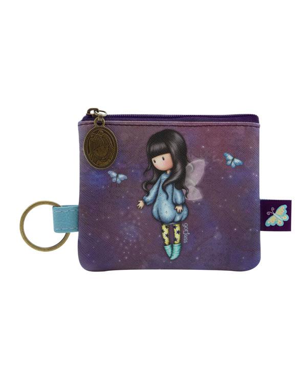 SANTORO - Gorjuss peňaženka so zipsom Bubble Fairy
