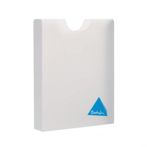 SATCH - Plastový box A4 StylerBOX Satch - biely
