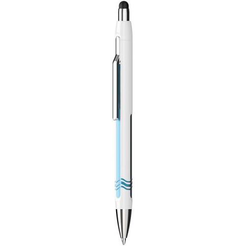 SCHNEIDER - Guľôčkové pero Epsilon Touch, white-blue 0,7 mm pre dotykové zariadenia