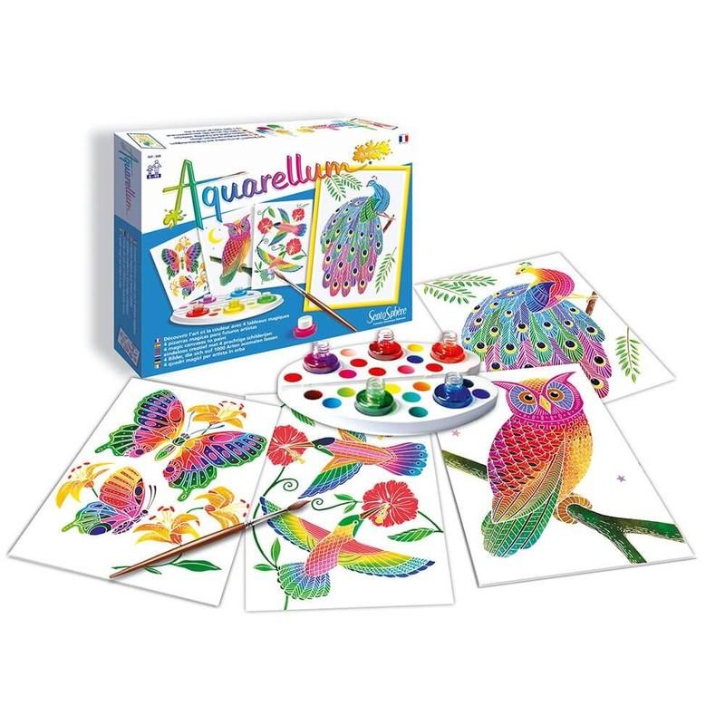 SENTOSPHÉRE - Aquarellum Vtáci a motýle