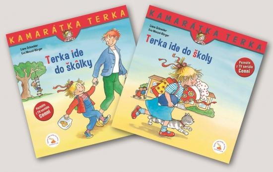 SET-Terka ide do školy +Terka ide do škôlky - Liane Schneider, Eva Wenzel-Burger