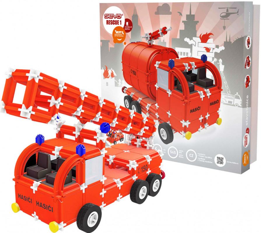 SEVA - Seva stavebnica Rescue 1, 545 dielikov