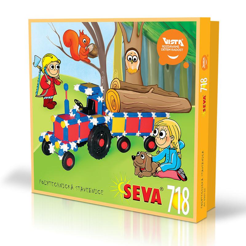 SEVA - Stavebnica Seva 718ks