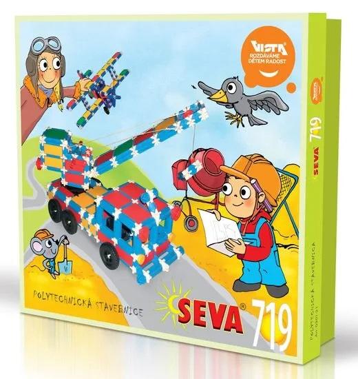 SEVA - Stavebnica Seva 719dielikov