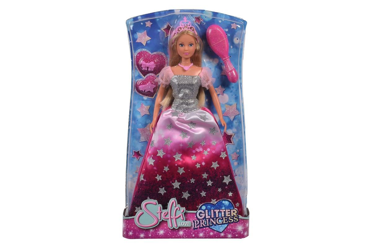 SIMBA - Bábika Steffi Glitter Princess