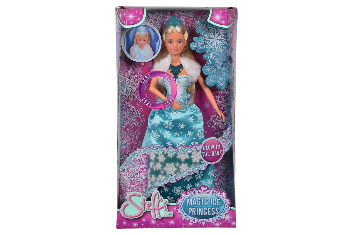 SIMBA - Bábika Steffi Magic Ice Princess