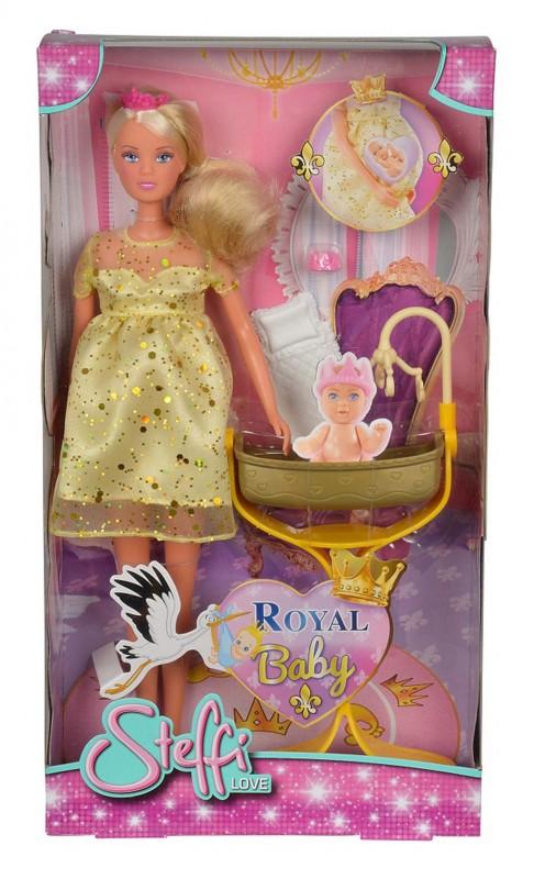 SIMBA - Bábika Steffi Royal Baby