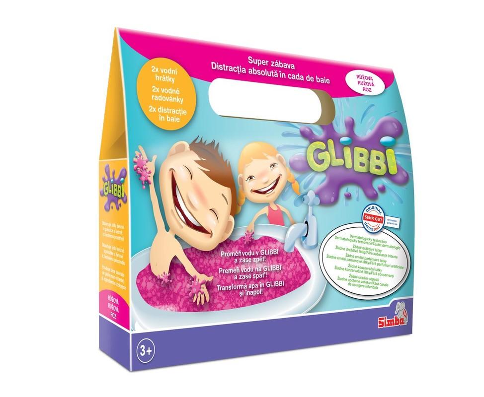 SIMBA - Glibbi, 4 druhy