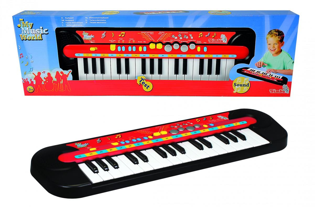SIMBA - Piano, 32 Kláves, 45 X 13 Cm, Na Batérie