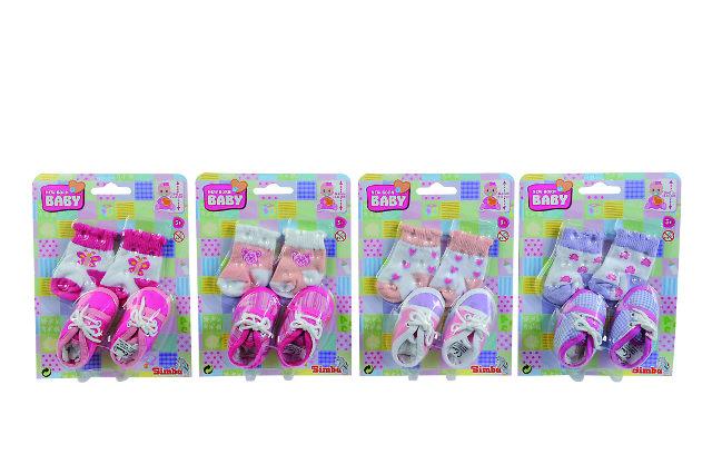 SIMBA - Ponožky A Topánočky Pre Bábiky, Vel.38-43