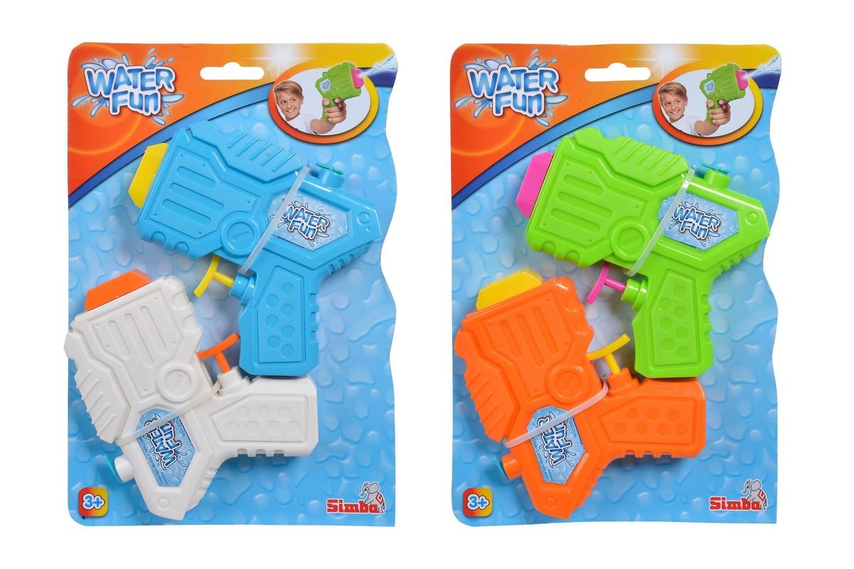 SIMBA - Vodné Pištole Set 2 Ks, 2 Druhy