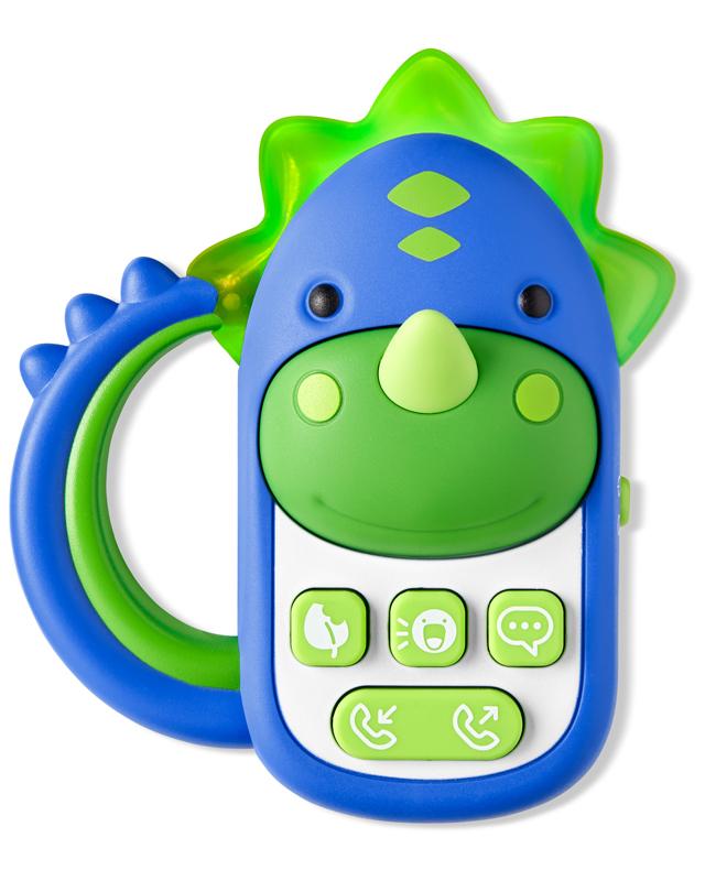 SKIP HOP - Hračka hudobná telefón Dinosaurus 6 m+