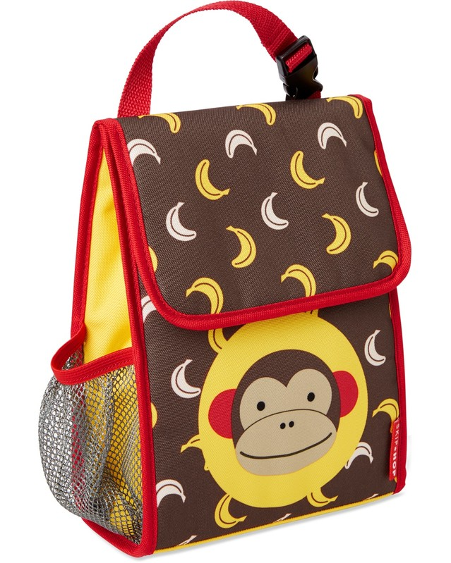 SKIP HOP - Zoo Batôžtek desiatový NEW Opička 3+