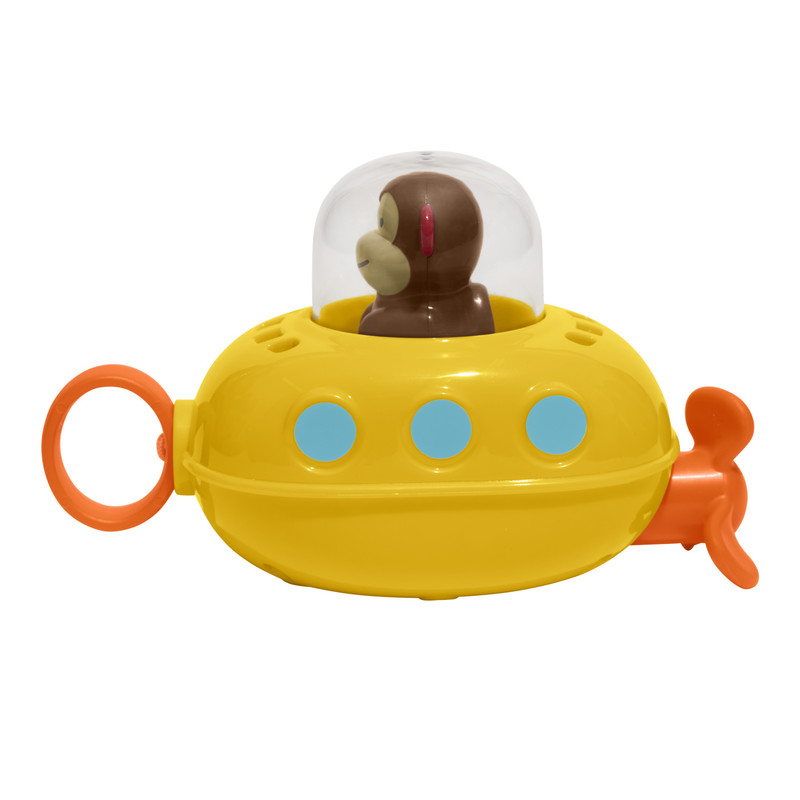 SKIP HOP - Zoo hračka do vody Ponorka - Opička 12m +