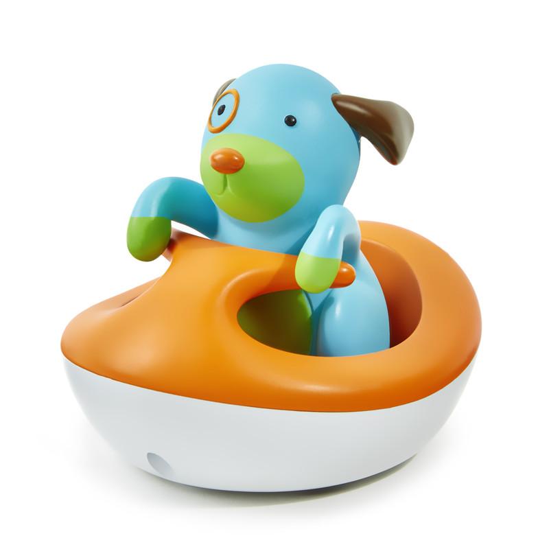 SKIP HOP - Zoo hračka do vody - Psík na vodnom skútri 12m +