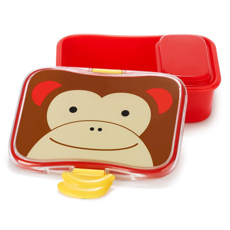 SKIP HOP - Zoo Krabička na desiatu - 4 - dielna - Opička