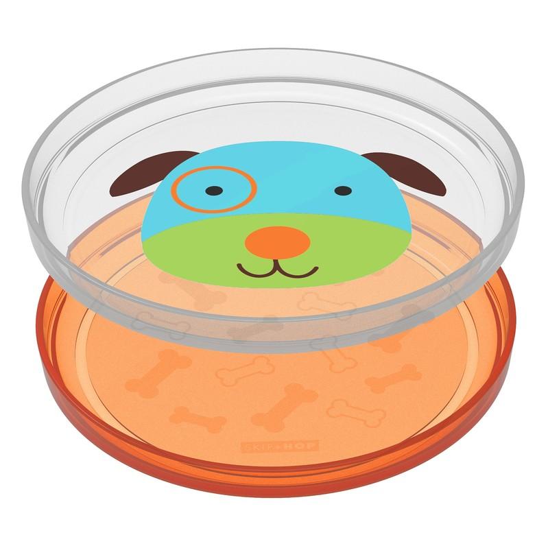 SKIP HOP - Zoo tanierik protišmykový 2v1 - Psík 6m+