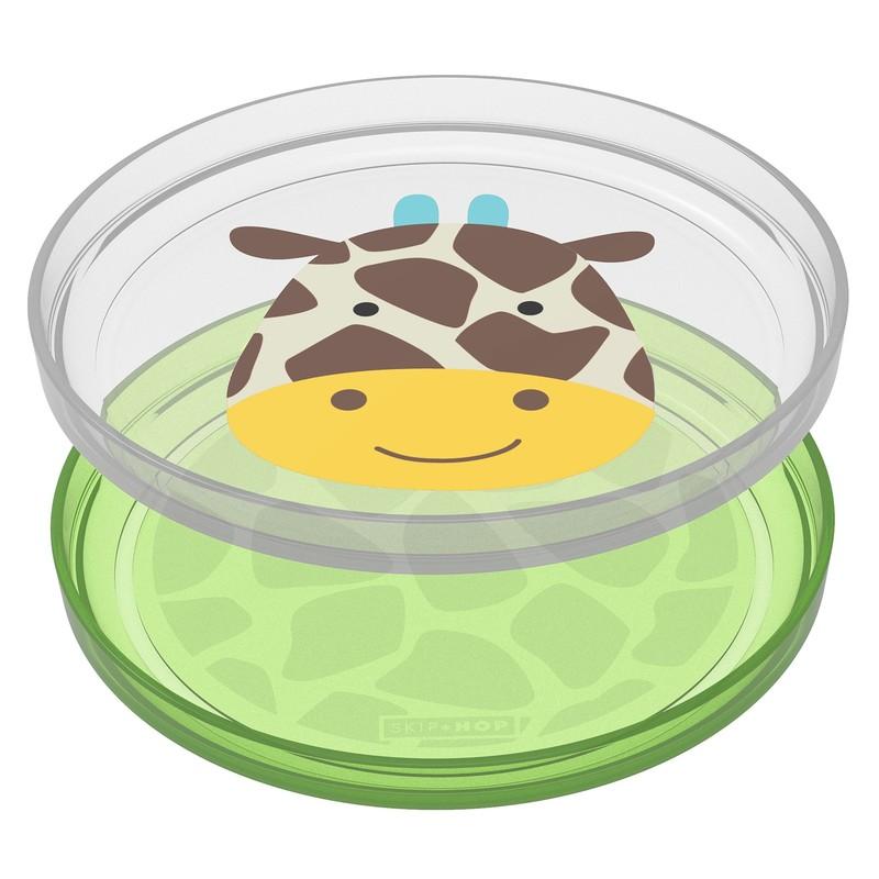 SKIP HOP - Zoo tanierik protišmykový 2v1 - Žirafa 6m+