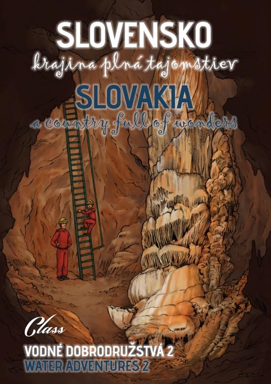 Slovensko – krajina plná tajomstiev - Vodné dobrodružstvá 2 - Kolektív autorov