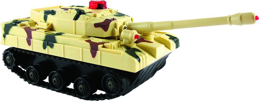 SMART KIDS - Bojový tank na diaľkové ovládanie so svetlom a zvukom, 2 farby