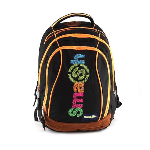 SMASH - Školský batoh Smash 2v1 - Čierny