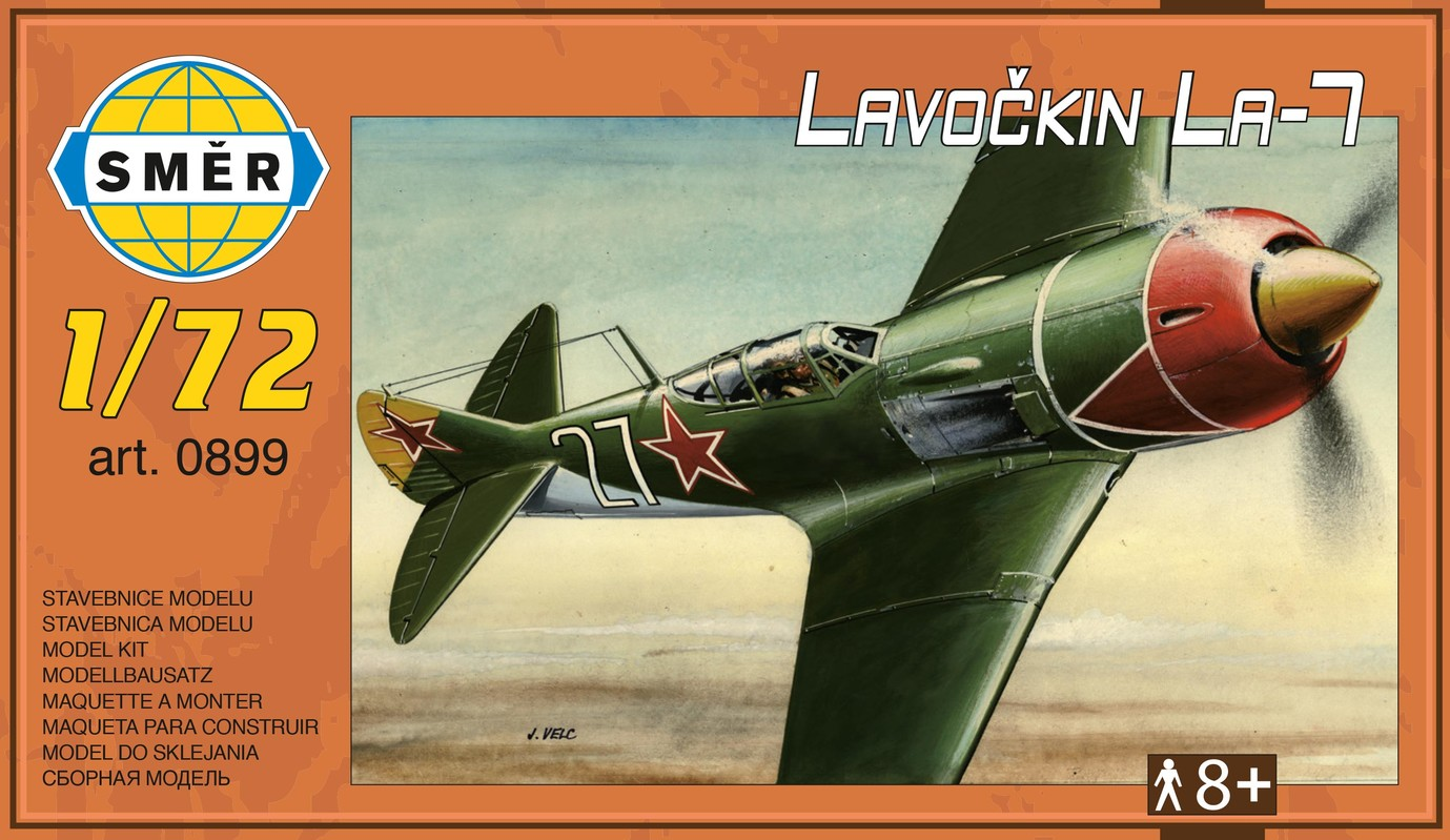 SMĚR - MODELY - Lavočkin La-7