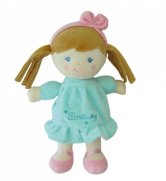 SMILY PLAY - Handrová bábika Brittany so svetlohnedými vláskami, 25 cm