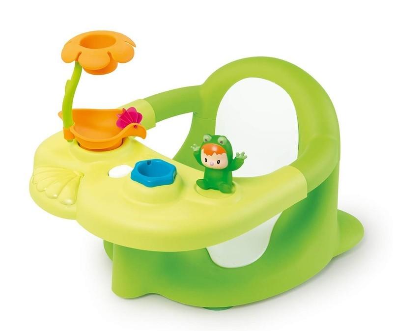 SMOBY - 110615 Cotoons Sedátko do vane žabka zelené