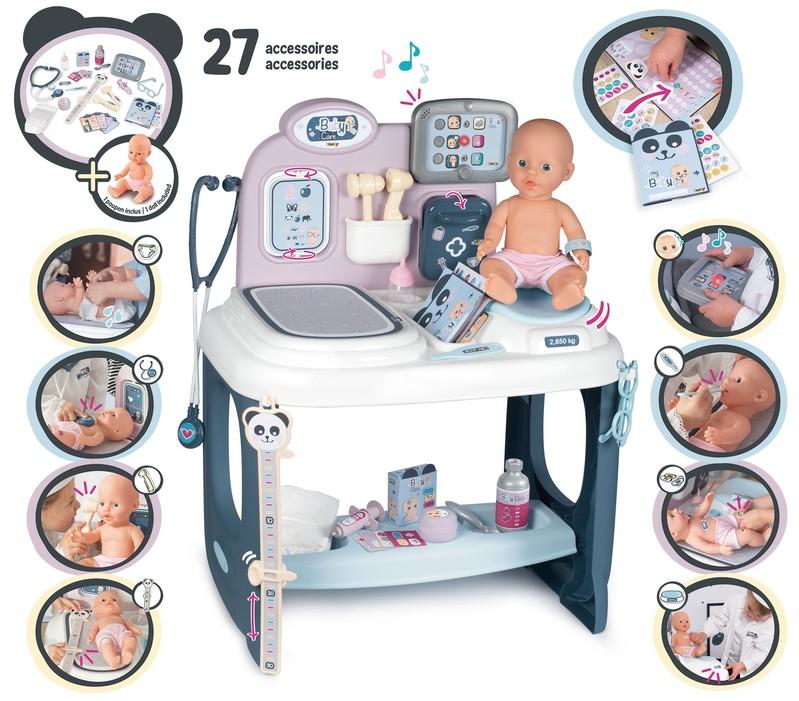 SMOBY - Baby Care Center s príslušenstvom