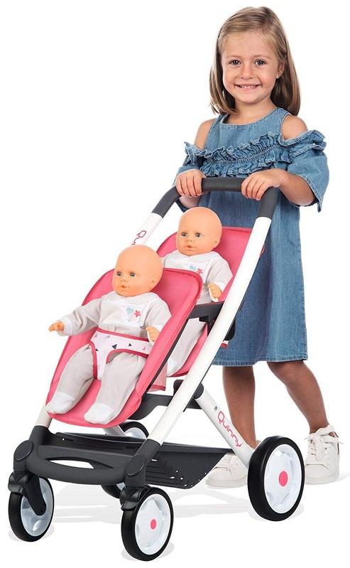 SMOBY - Kočík pre dvojčatá Maxi Cosy Quinny 253298