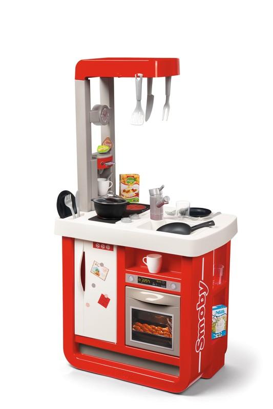 SMOBY - Kuchynka Bon Appetit Červeno-Biela Elektronická