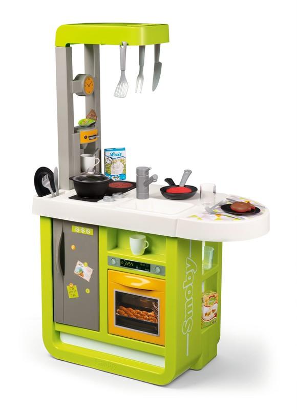 SMOBY - Kuchynka Bon Appetit Cherry Zeleno-Žltá Elektronická