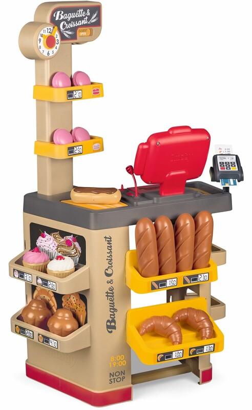 SMOBY - Pekáreň s koláčmi Baguette&Croissant Bakery s elektronickou pokladňou