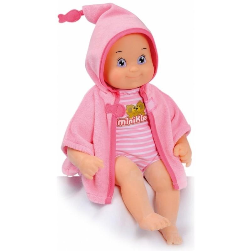 SMOBY - Smoby bábika Minikiss do vane so zvukmi