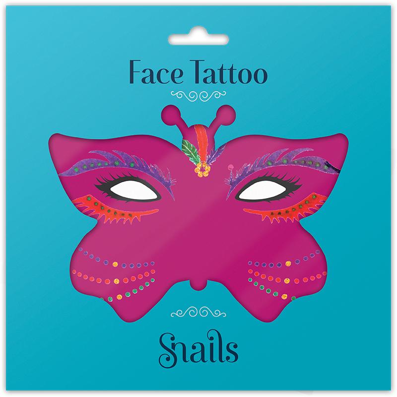 SNAILS - Tetovačka na tvár Brazil
