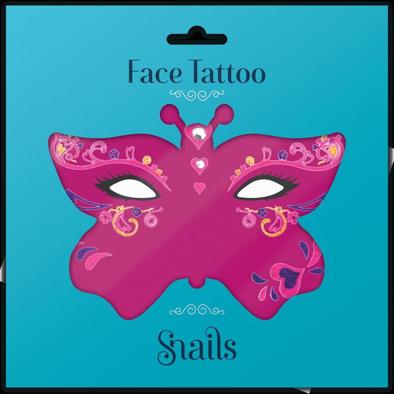 SNAILS - Tetovačka na tvár Queen of Hearts